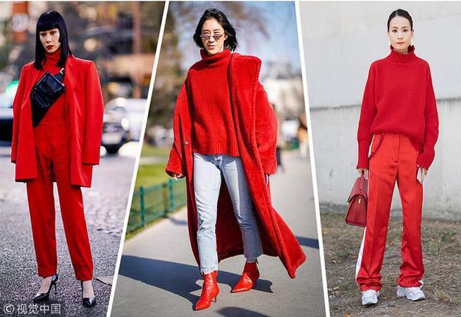 春节回家走亲访友 红色毛衣讨长辈开心