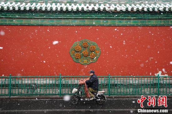 北京城区迎来首场大规模降雪