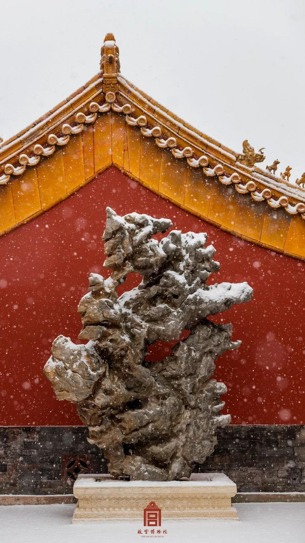 故宫下雪了!收图!
