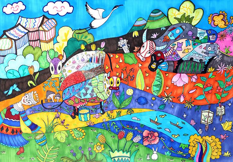 2018届FAC国际少儿绘画大赛颁奖礼暨优秀作品展在中央美术学院举行