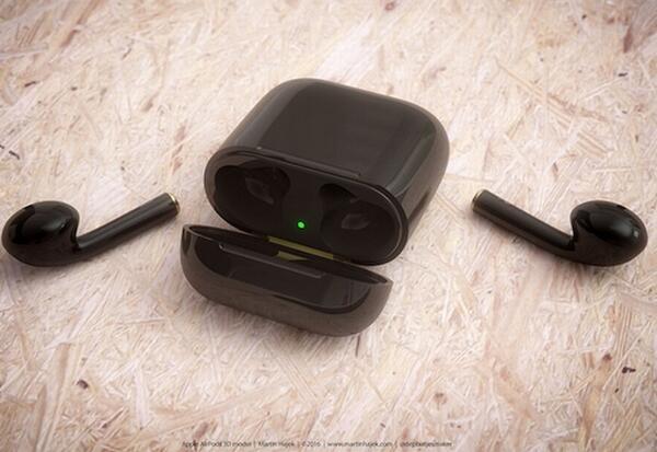 黑色且便于携带!苹果推出新款AirPods无线耳机