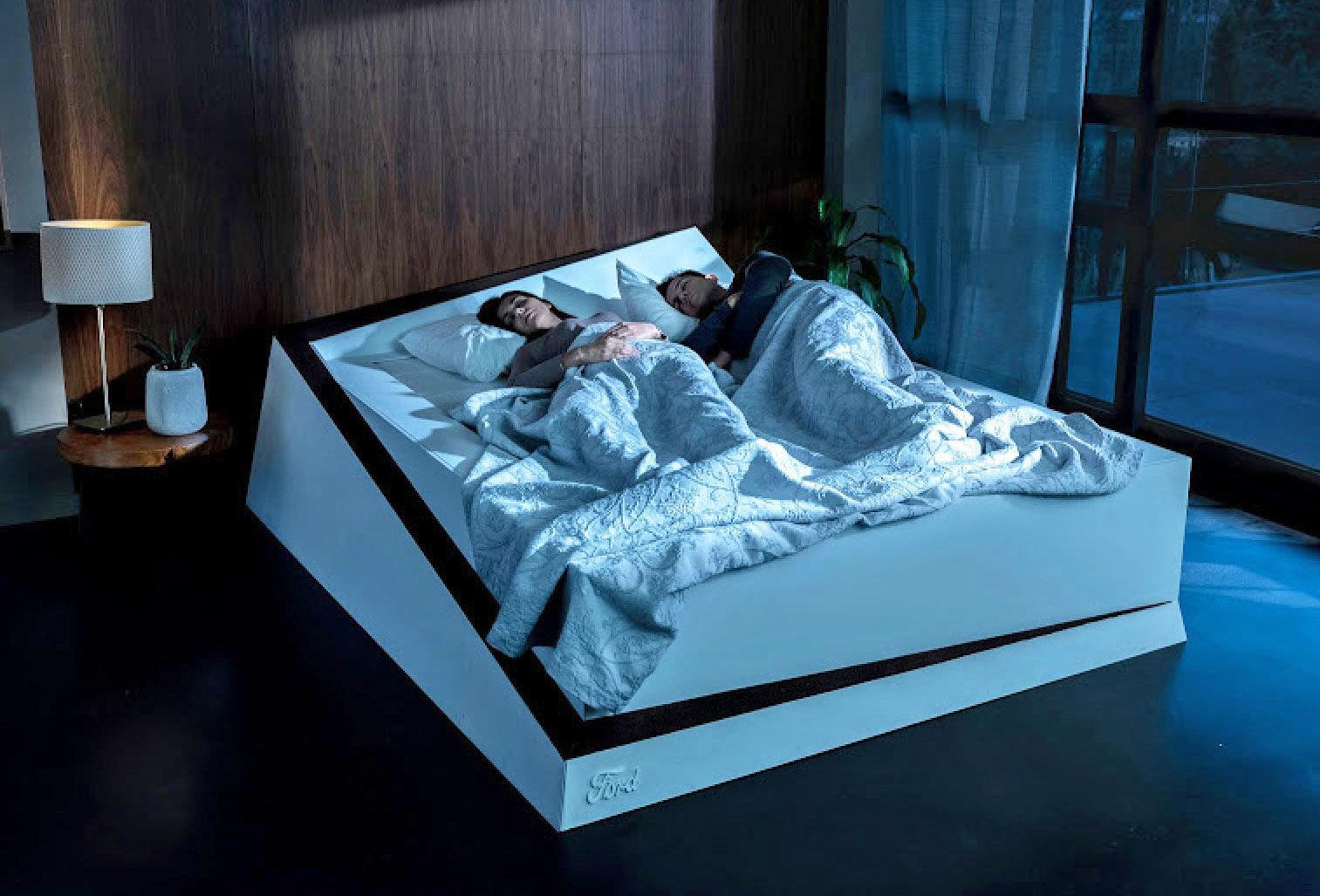 """福特""""不务正业"""" 用自动驾驶技术做了一张床"""