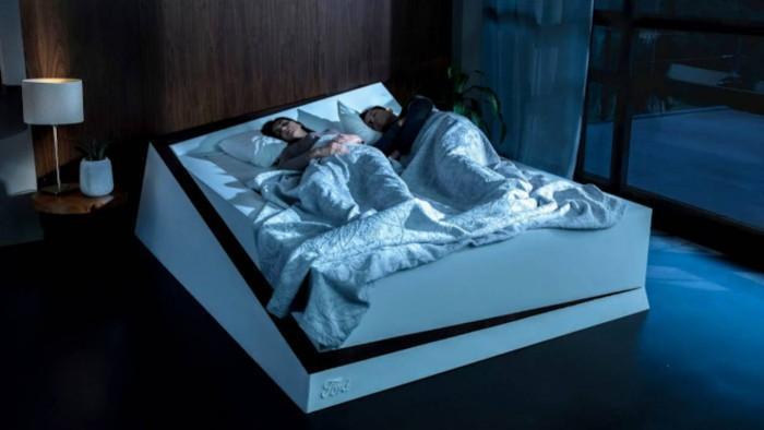 福特从车辆技术汲取灵感 推车道保持床概念设计