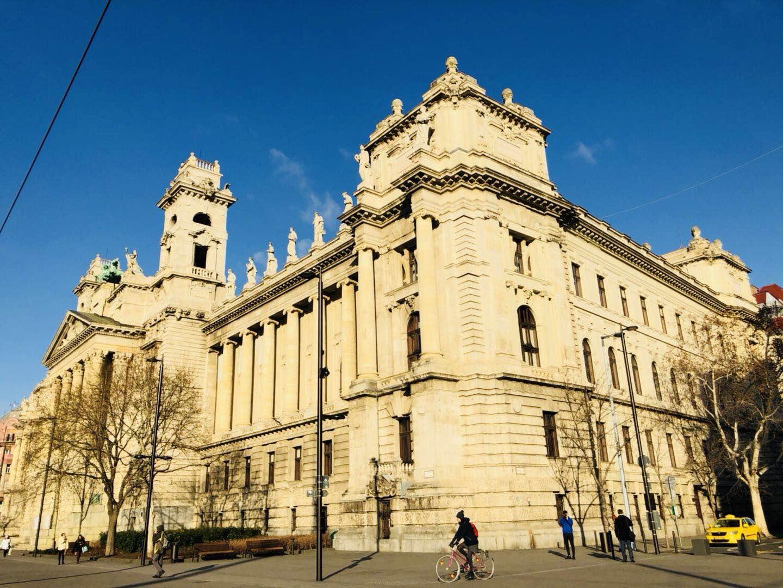 布达佩斯印象 择一个有阳光的冬日