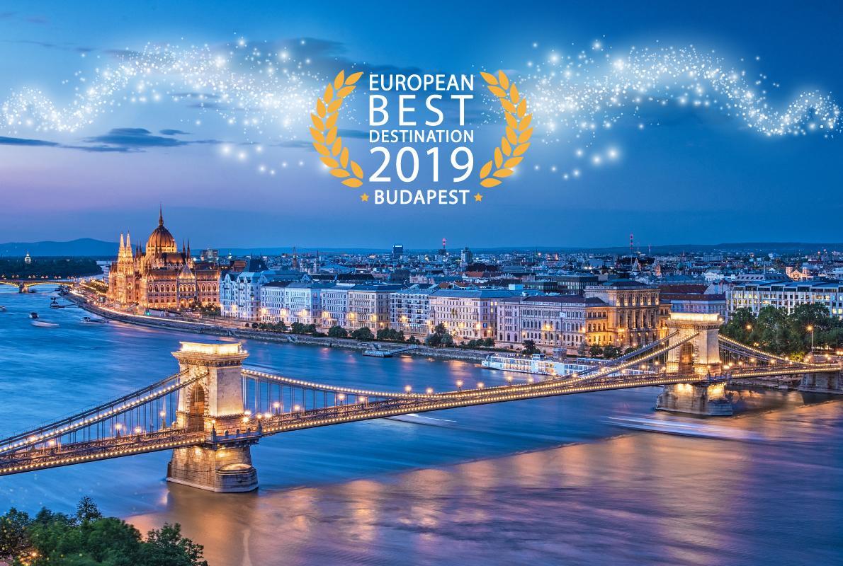 布达佩斯赢得2019欧洲最佳旅游目的地头衔
