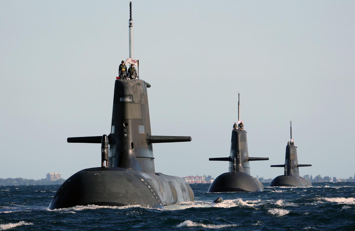 澳斥巨资购12艘超级潜艇 专家:或在南海围堵中国