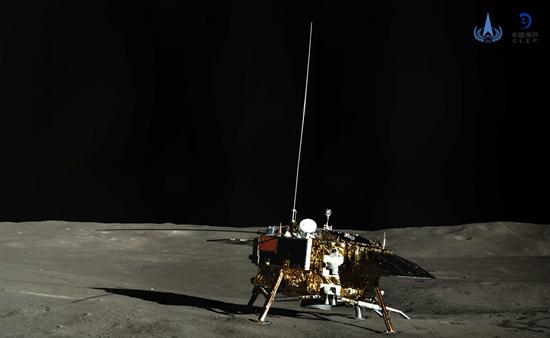 """""""嫦娥""""""""玉兔""""再次月夜休眠 打破月面行驶纪录"""