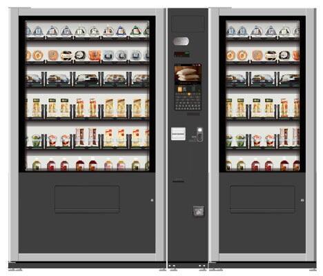 """日本研发首款""""可自由组合商品""""自动售货机"""