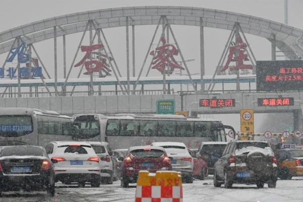 华北迎今冬来最强降雪