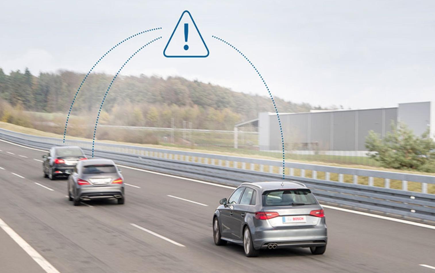 无人驾驶新进展:华为和博世成功测试C-V2X车联网