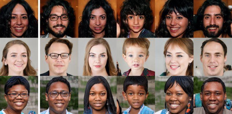 人工智能算法生成人像照片 人类难分真假