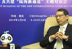 """泰国驻华大使:泰国支持东盟10国参与""""陆海新通道""""项目"""