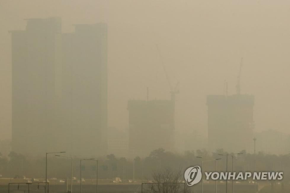 下定决心治雾霾 韩国将开始实施治霾特别法
