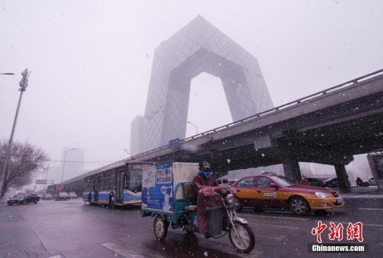 受降雪影响 北京20条市郊公交线路采取临时调度措施
