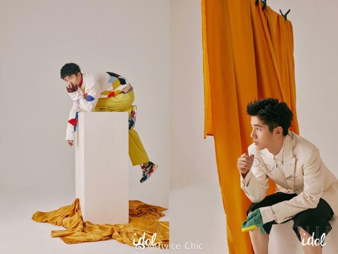 刘昊然开春第一封面 色彩多面的风格特别暖