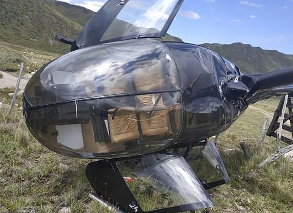 阿根廷故障直升机平稳降落 乘客奇迹生还