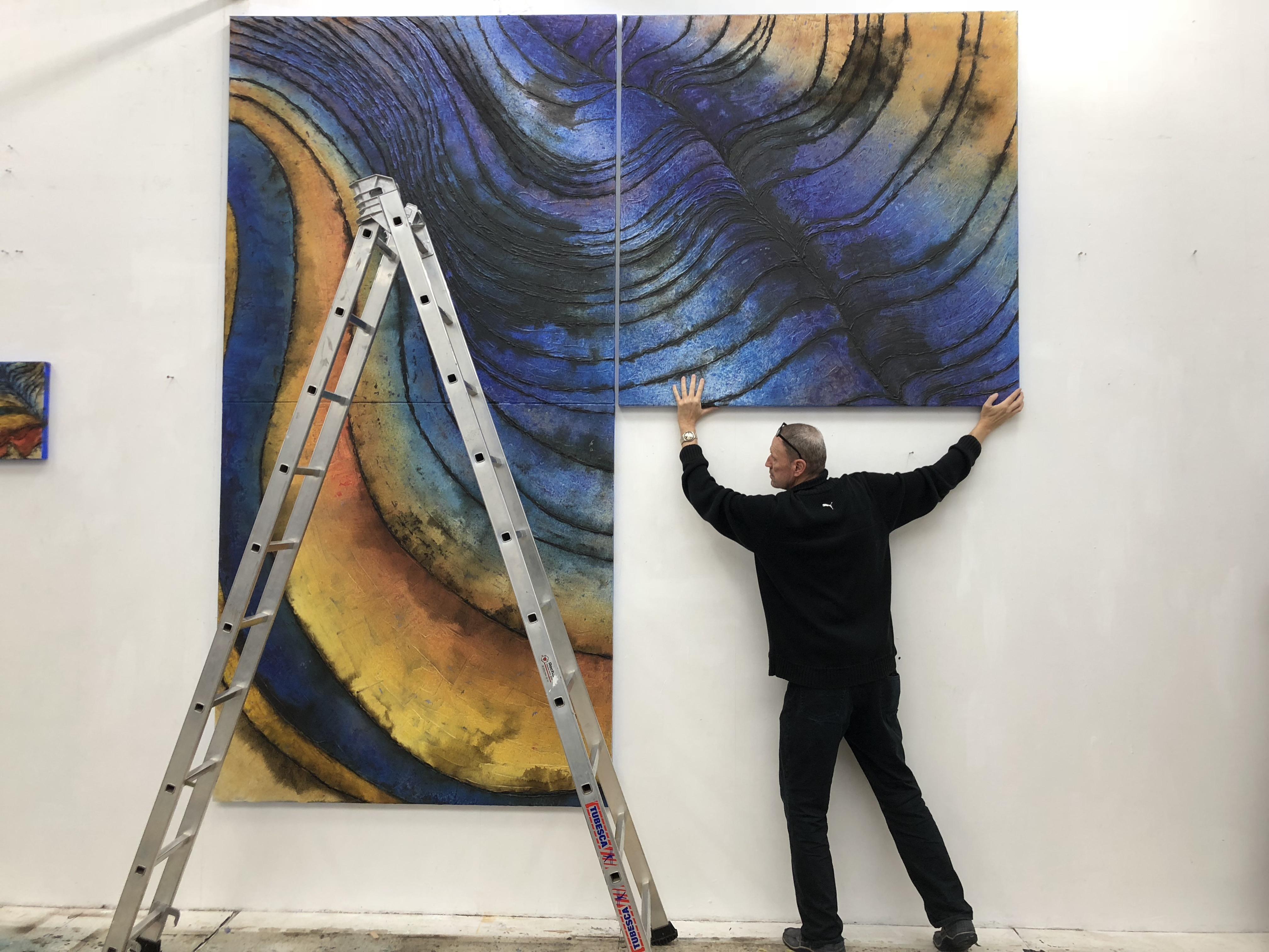 """专访瑞士艺术家伯纳德·加罗 用""""黑科技""""解构自然元素"""