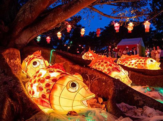 新西兰奥克兰举办盛大元宵灯节