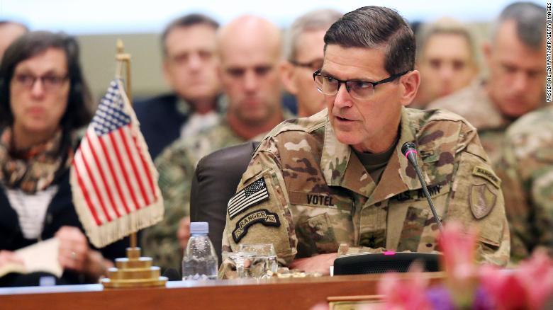 和特朗普唱反调?美中央司令部司令:我不同意从叙利亚撤军