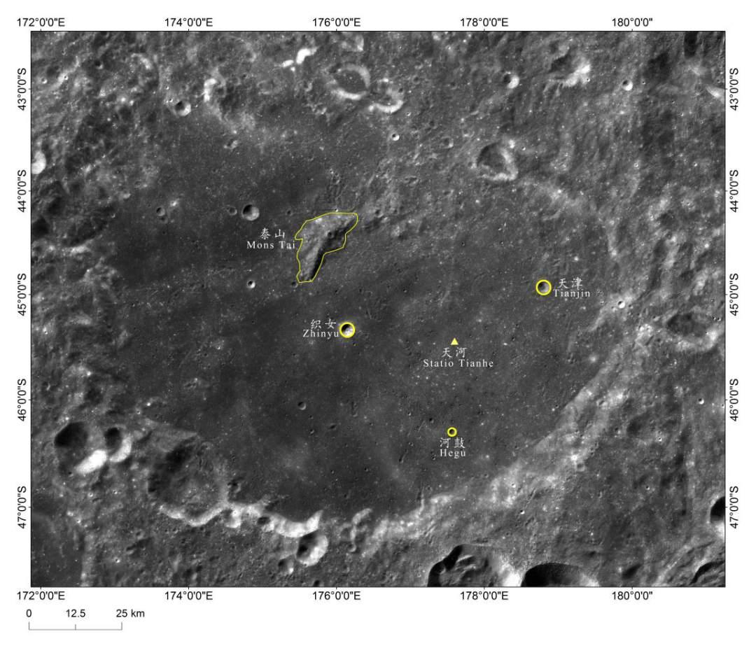"""定了!""""嫦娥""""落月的地方不叫广寒宫,而叫""""天河"""""""