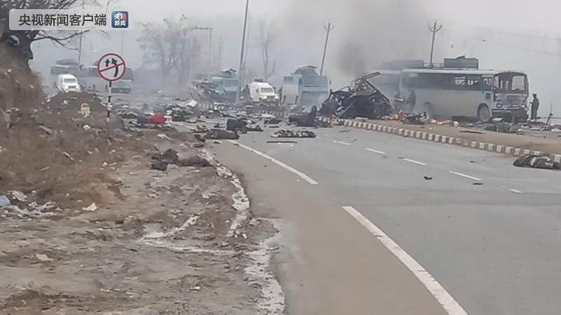 印控克什米尔发生爆炸 40人死亡