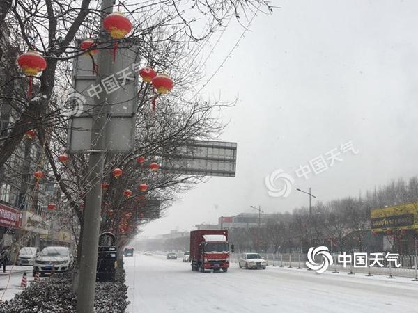 华北雪后大风至 湖北安徽浙江明起雨转雪