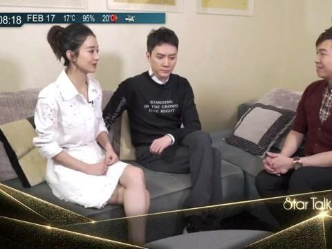 冯绍峰赵丽颖谈为小孩起名,他脱口而出4个名字,颖宝狂笑