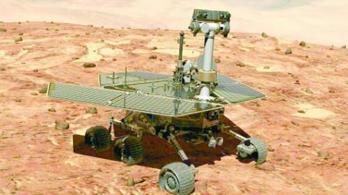 """""""机遇""""号火星探测器结束传奇生涯"""