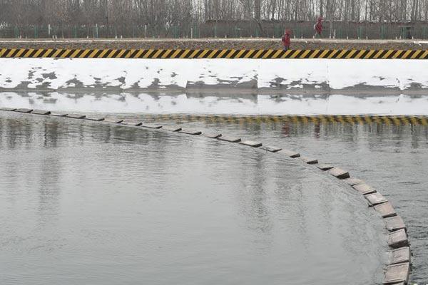 确保冬季输水安全