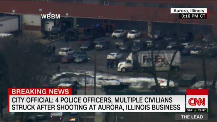美国又发枪案!5人死亡,6警察受伤,枪手被击毙