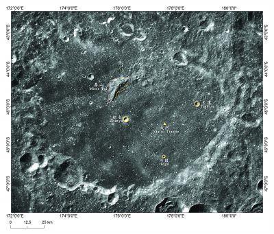 月球上多了5个中国名字