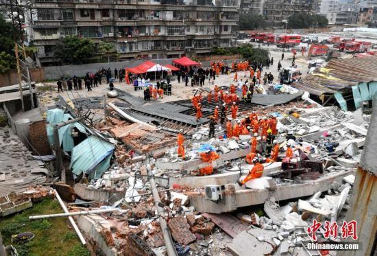 福州民房倒塌事件搜救结束 造成3人死