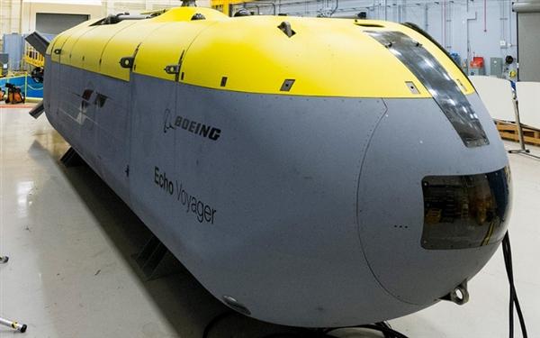 美海军制造水下神器:长15.5米的无人驾驶海底车