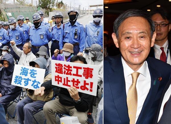 公然无视冲绳民意投票结果,安倍政府被批暴力强权