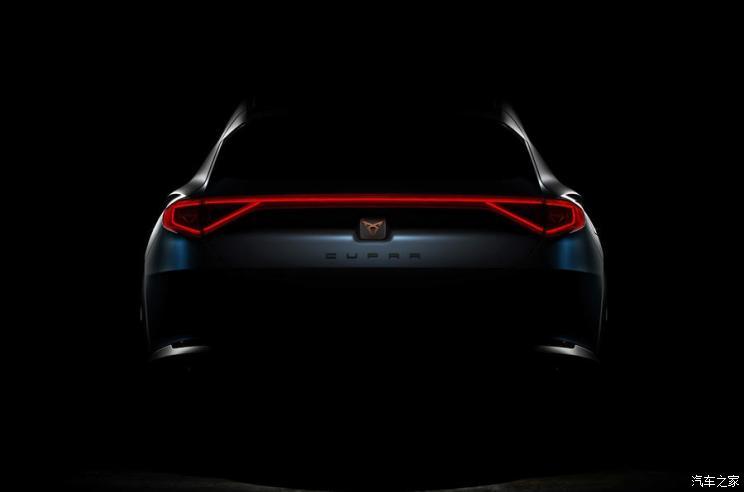 归属CUPRA 西雅特新概念车2月22日发布