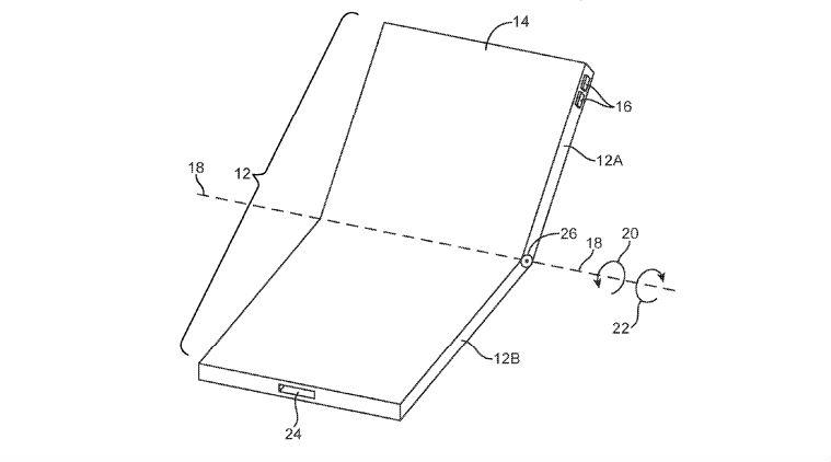 苹果更新专利 被疑是可折叠iPhone即将到来