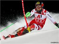 高山滑雪希尔斯赫重回霸主地位 夺分站赛第68冠