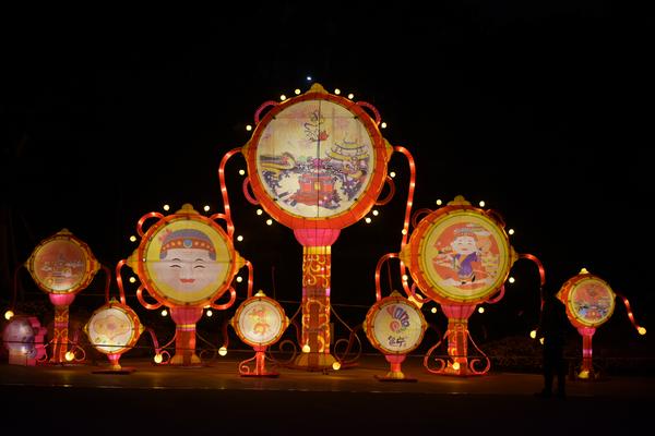 """2019年园博园(邕宁)元宵灯光艺术节亮灯启动""""福灯海"""" 邀您共赏""""邕华桂"""""""