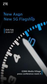 MWC 2019:中兴将在MWC发布首款5G Axon旗舰机