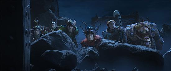 《驯龙高手3》发布恢弘龙族特辑 龙族种类起底