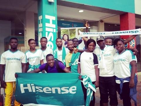 海信做强不忘企业社会责任 捐赠加纳儿童医院