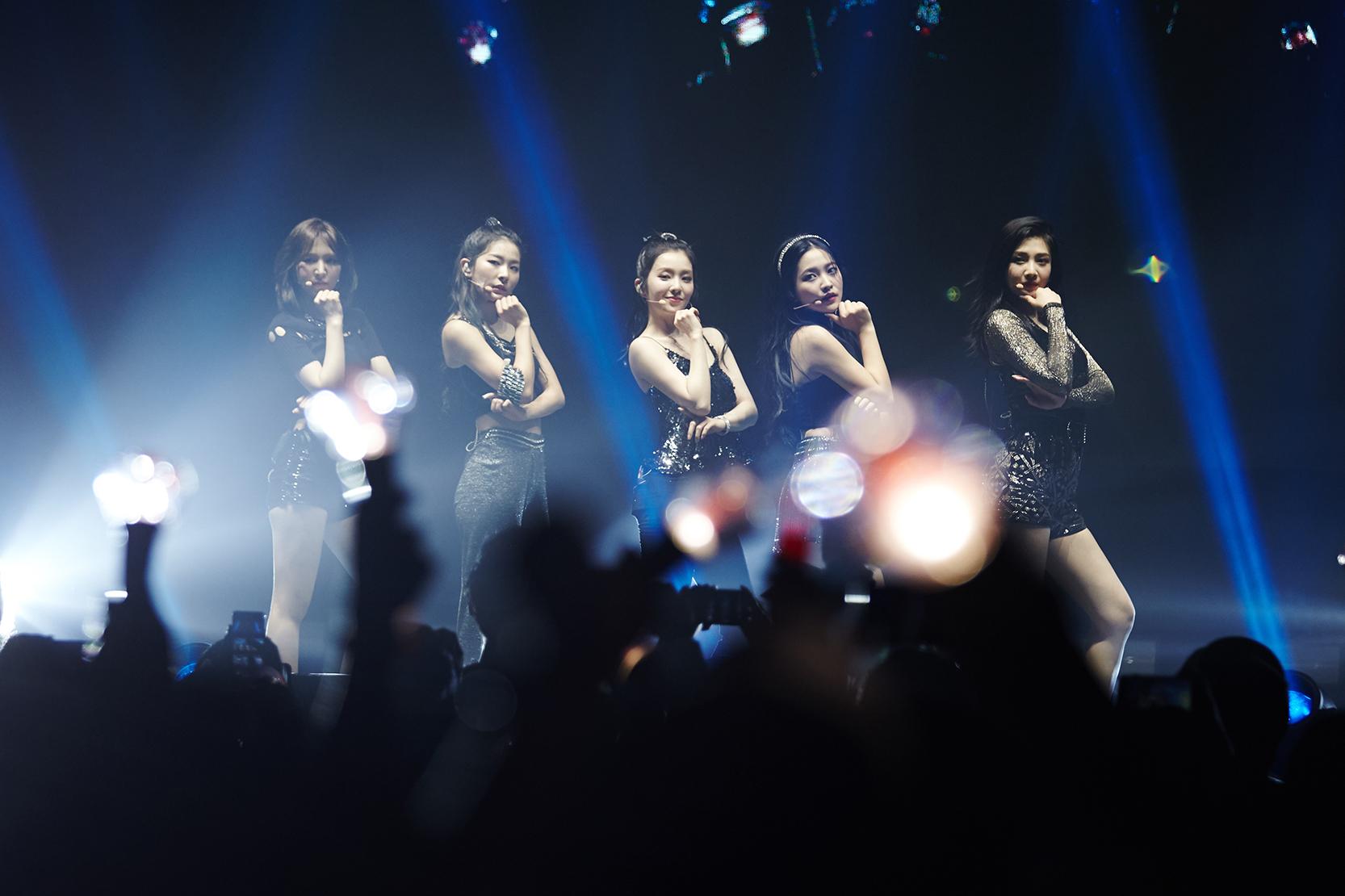 Red Velvet首次北美巡演 令全美着迷