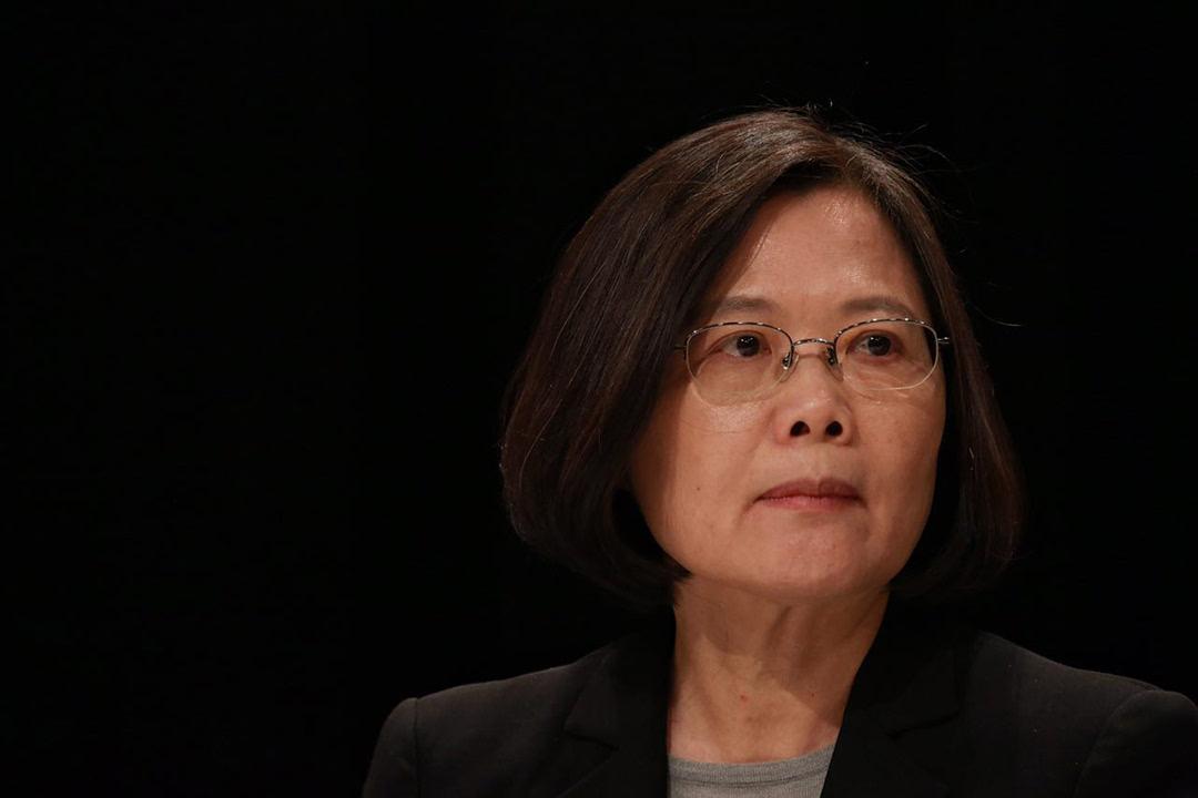 美媒:蔡英文宣布将参加2020年台湾地区领导人大选