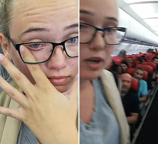 瑞典女乘客为他人打抱不平拒绝就坐被指违反航空法