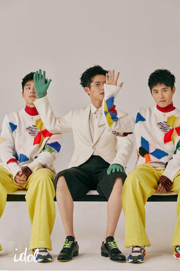 刘昊然登时尚杂志封面 挑战多样风格