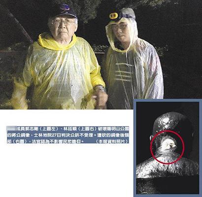 """""""独派""""斩首蒋介石铜像遭起诉 地院不受理被台""""高院""""打脸"""