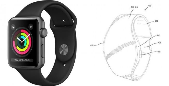 苹果探索未来Apple Watch灵活的显示设计