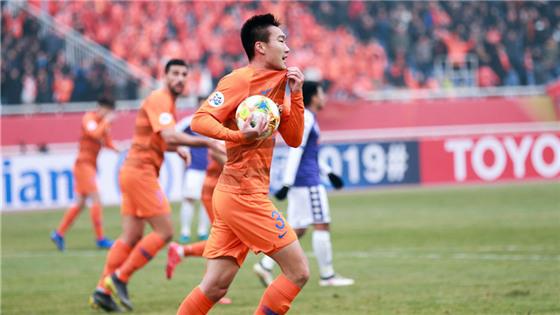 亚冠附加赛:山东鲁能4-1河内FC