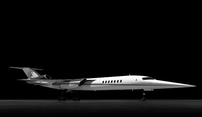 波音与Aerion合力打造世界上第一架超音速商务机