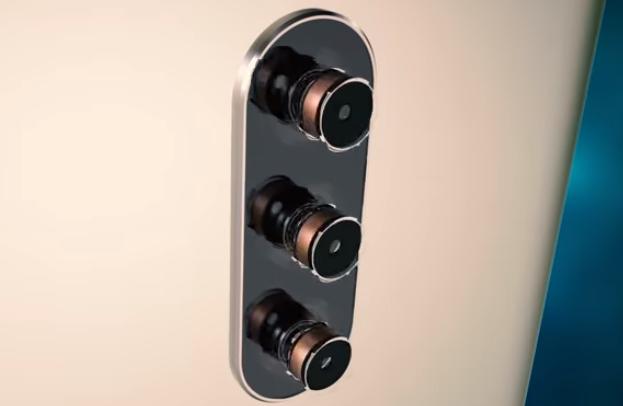 一加7预告片曝光:后置居中竖排三摄+金属外壳